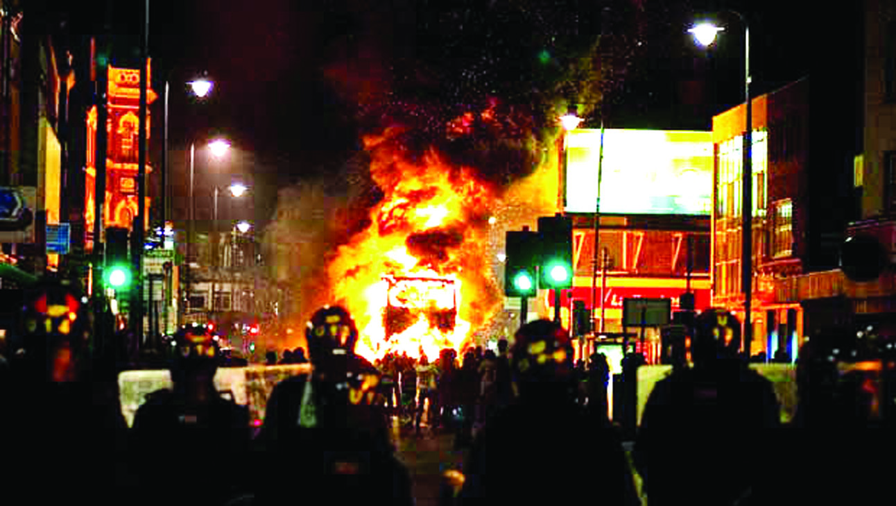 Youth in the uk riots