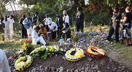 'Jackie Fyah', Franklyn Hixon eulogised and laid to rest following his sudden passing
