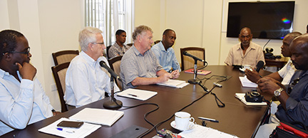 Steering Committee report on geothermal development progress