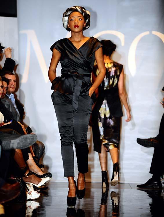 Sharissa Ryan Miss Montserrat 2014 2015 Models In New York Fashion Week Event The Montserrat Reporter