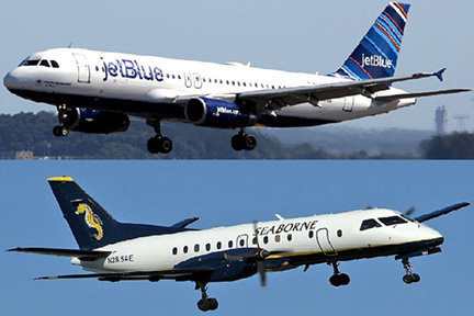 JetBlue and Seaborne Airlines launch codeshare agreement
