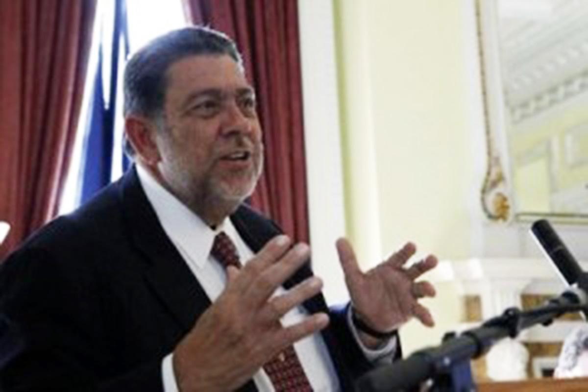 PM ULP leader Dr. Ralph Gonsalves.