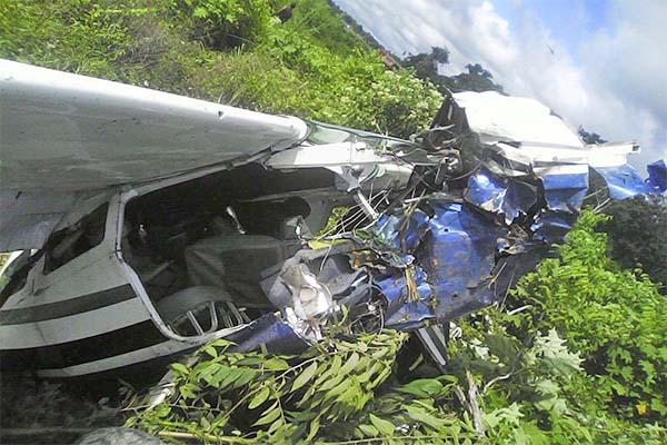 Plane crashed in Suriname